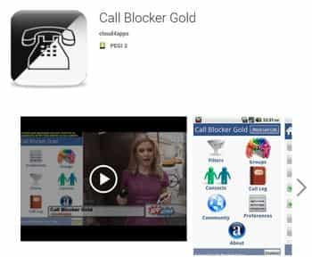 Call Blocker Gold